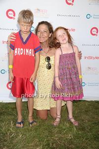 Anderson Falco, Edie Falco, and Macy Falco