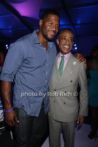 Michael Strahan and Reverand Al Sharpton photo by Rob Rich/SocietyAllure.com © 2013 robwayne1@aol.com 516-676-3939
