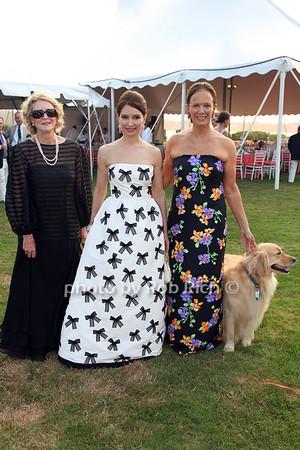 Susan Allan, Jean Shafiroff, Sandra Mcconnell, Bebe (dog)