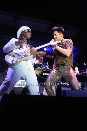 Nile Rodgers and Adam Lambert photo by Rob Rich/SocietyAllure.com © 2013 robwayne1@aol.com 516-676-3939