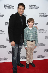 "Ralph Macchio and Ben Hyland attend the HIFF screening of ""Connections"" at the UA cinema in East Hampton. (October 11, 2013) photo by Rob Rich/SocietyAllure.com © 2013 robwayne1@aol.com 516-676-3939"