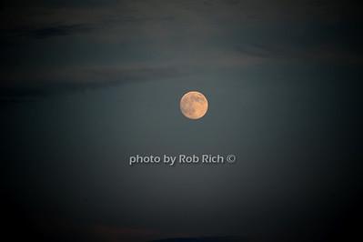 Montauk moonrise