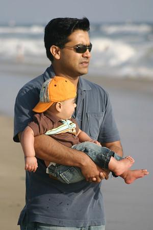 Hamzi & Baba on Beach