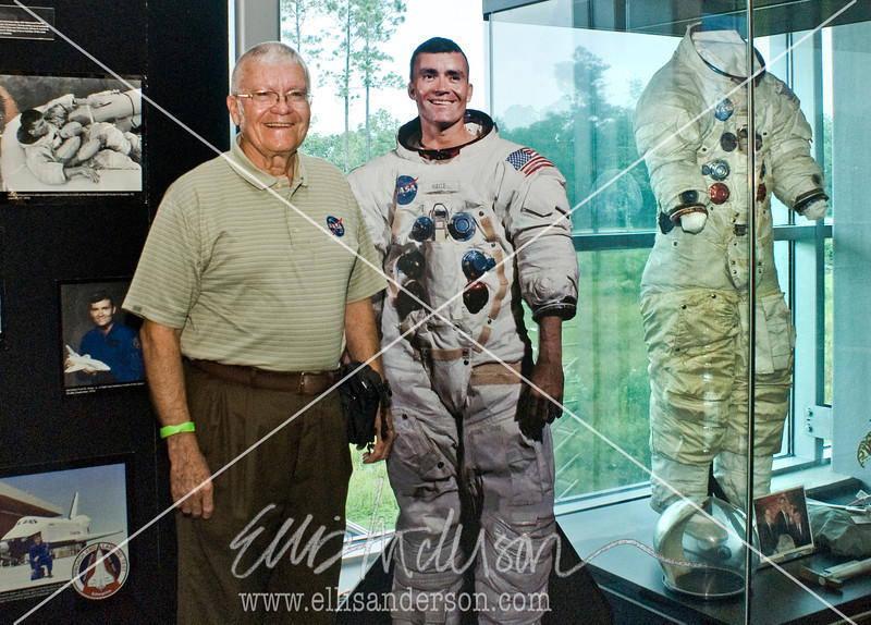 Fred Haise exhibit w-Fred 2041