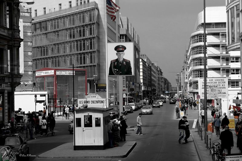 Checkpoint Charlie - Berlin, Germany 2005 - Paw Prints Nature & Wildlife Photography