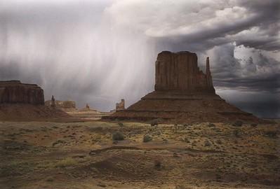 August Storm, Momument Valley, Utah