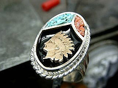 Indian Head Penny Ring-3