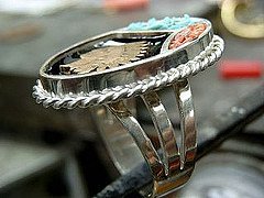 Indian Head Penny Ring-2