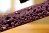 Sugar Skull hand guard in custom purple and black finish