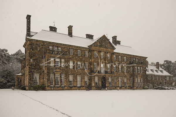 Snowy Crathorne Hall