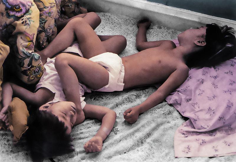 Asleep on Each Other