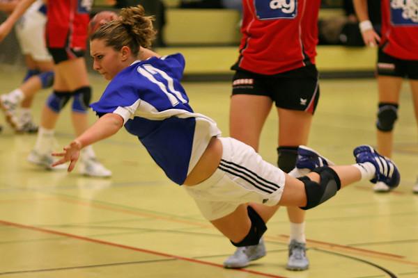 Sport Handball Frauen SG Basel Regio NLB  Saison 2007/2008