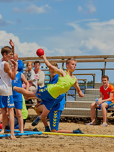 Molecaten NK Beach Handball 2016 dag 1 img 003