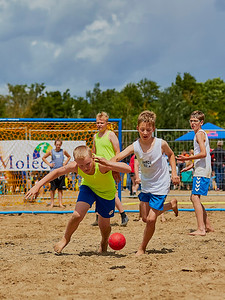 Molecaten NK Beach Handball 2016 dag 1 img 005