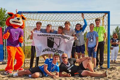 Molecaten NK Beach Handball 2017 Prijsuitreiking img 014