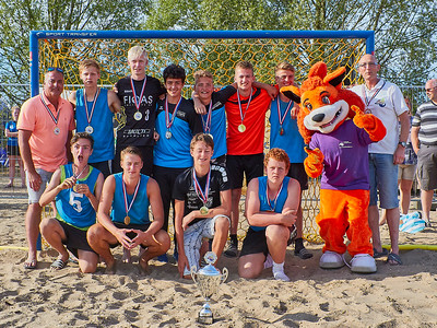 Molecaten NK Beach Handball 2017 Prijsuitreiking img 024