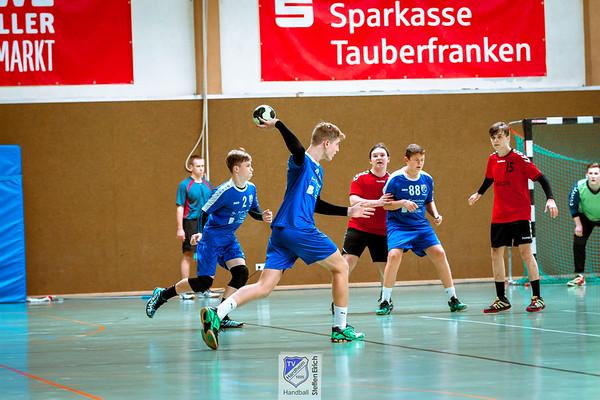 Handball Landesliga: TVHmB - JSG Hemsbach/Lau./Hep. (21:27)