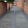 Alley off Browns Lane: Handbridge