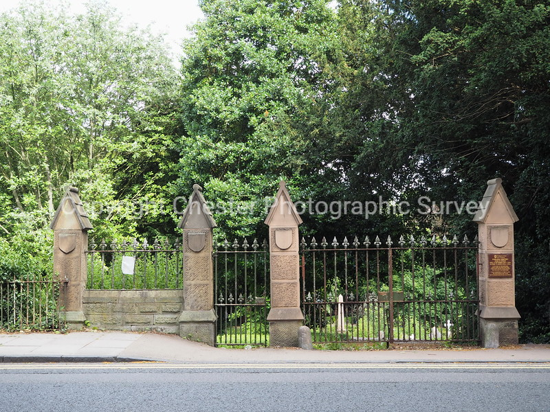 Cemetery Gates: Grosvenor Road: Handbridge