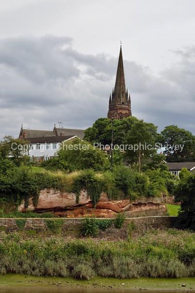 St Mary's Church: Overleigh Road and Edgar's Field: Handbridge