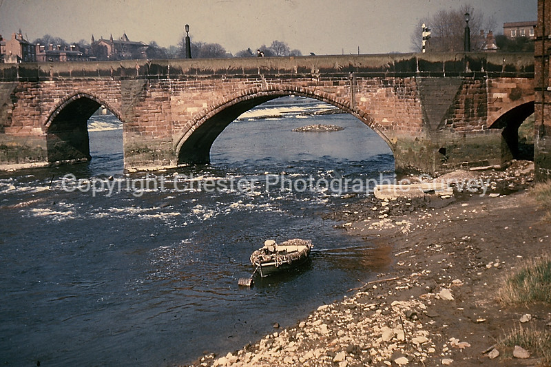 The Old Dee Bridge: Handbridge