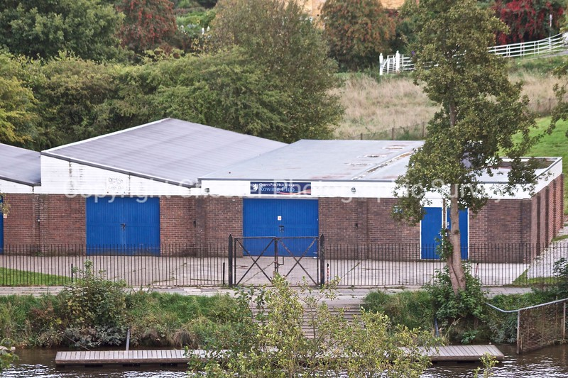 Queens Park High School Rowing Club Boathouse: Lower Park Road