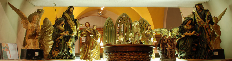 Nativity Pieces, Gift Shop.