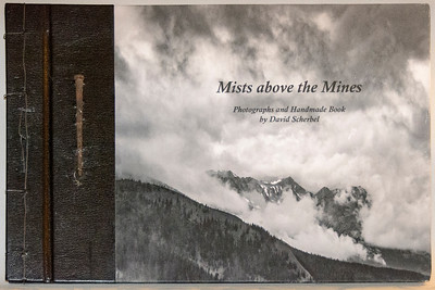 Cover of Mists above the Mines showing wired cover and 19th Century Cut-nail