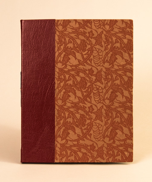Cover -leather and paper