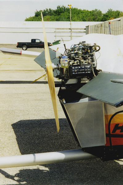 This was the Subaru engine that I had built for the plane in 1996.  This motor worked great right up to the time I sold it in 2001.  I really miss flying.