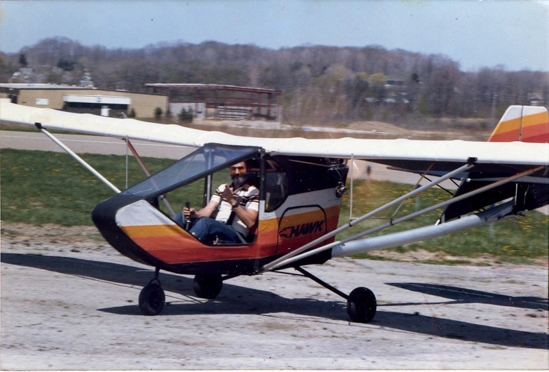 One of the benefits of this model was that you could fly with the doors on or off.  Flying with the doors off was much nicer in the summer... the sun made it kind of hot during those hot summer days.