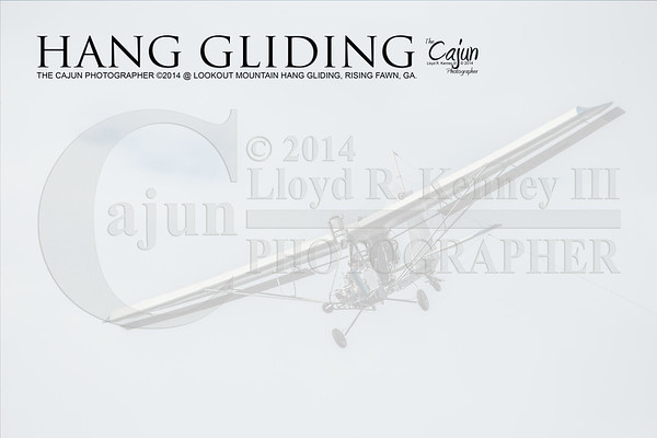 Hang Gliding from Lookout Mountain