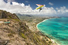 Hang Gliders and Paragliders over Makapuu-21