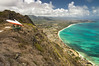 Hang Gliders and Paragliders over Makapuu-10