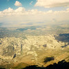 1990 U.S. Hang Gliding National Championships - Dinosaur National Monument is down there somewhere.