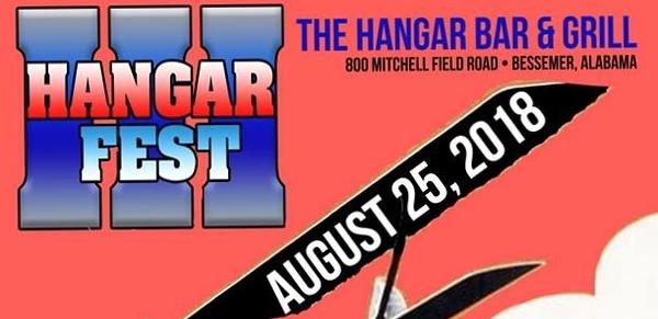 Hangar Fest III August 25, 2018