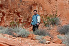 376 Scott the Tourist at the Valley of Fire