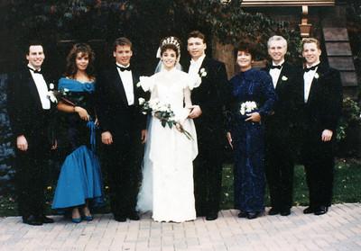 Mr. & Mrs. John Patrick Hanlon - Sept. 29, 1990