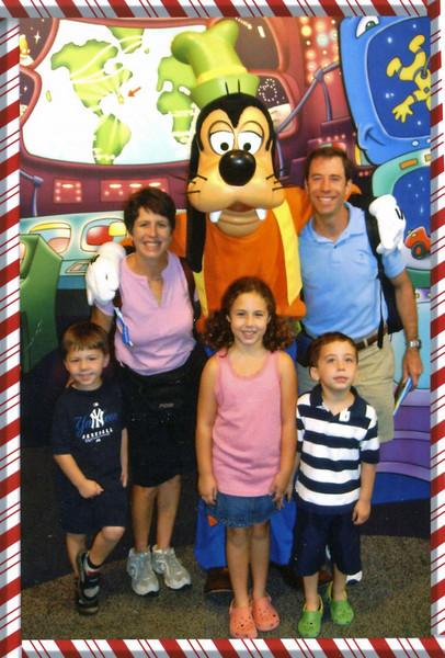 Foerster Family at Disneyland 2007