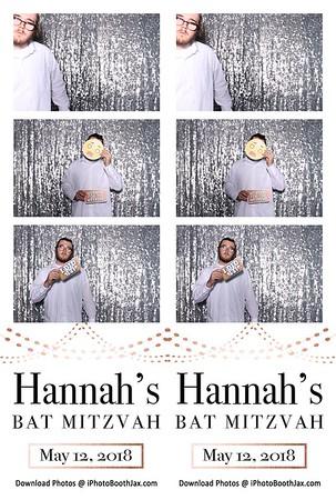 Hannah's Bat Mitzvah