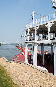 The Bow of the American Queen