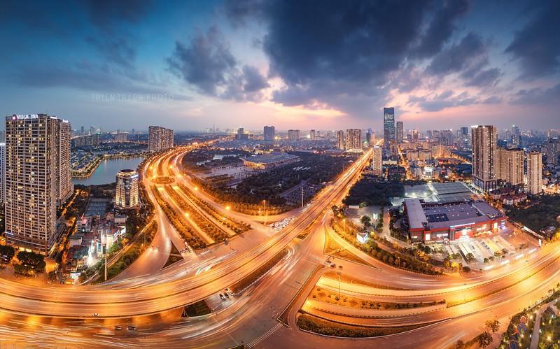 Hanoi Panorama Cityscape