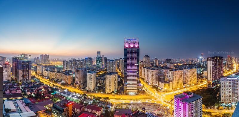 Hanoi cityscapes - Western of Hanoi panorama