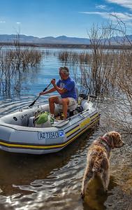 Lake Theodore Roosevelt, Arizona USA