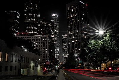 Downtown Los Angeles at Night Study #1