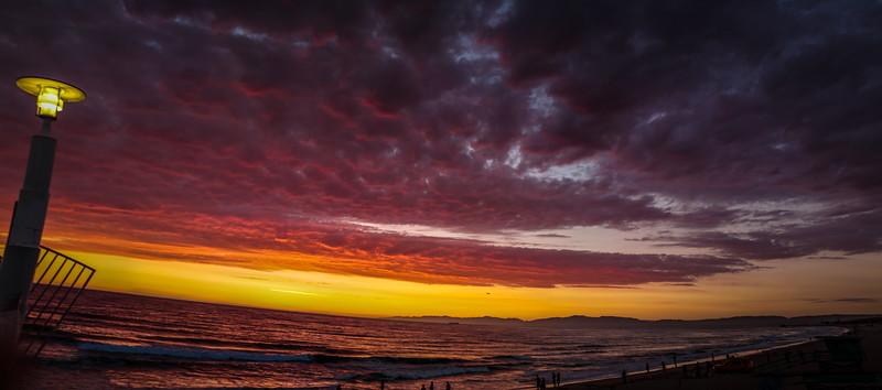 Hermosa Beach Panorama