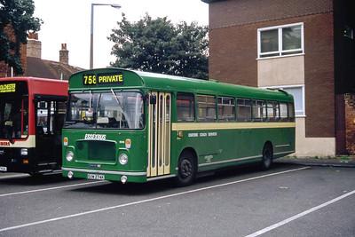 Carter Colchester SVW274K Colchester Bus Station Sep 94