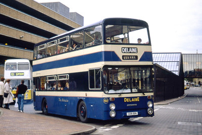 Delaine Bourne GDB181N Peterborough Bus Station Sep 94