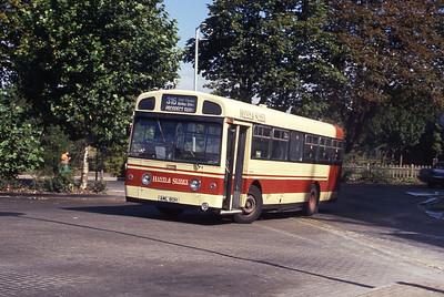 Hants and Sussex AML80H Havant Bus Stn Sep 90