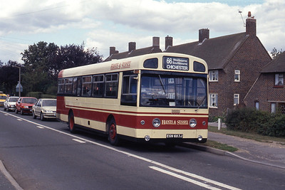 Hants and Sussex EGN683J Southbourne Level Crossing Sep 90